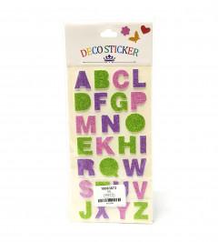 Deco Alphabet Sticker