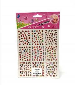 9 Pcs 3D Nail Art Stickers