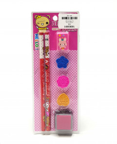 Stamp Pencil Gift Set