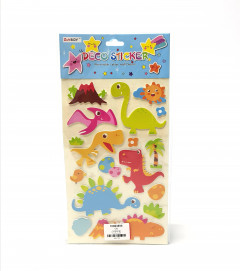 1 Pack of Deco Dinosaur Stickers