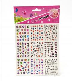 9 Pcs 3D Nail Art Stickers Set
