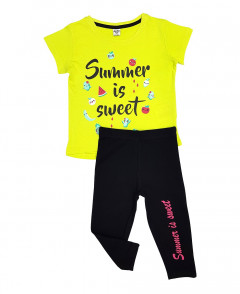 Girls T-Shirt And Pants Set