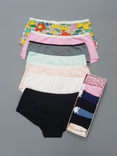 7 Pcs Ladies Brief Shorts Pack