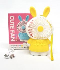 Cute Fan Led Rabbit USB Charging Mini Fan