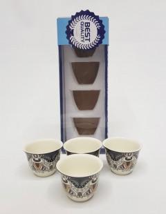 5 Pcs Ceramic Tea Cup Set