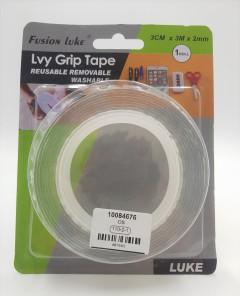 Lvy Grip Tape Reusable Removable Washable , 3CM * 3M * 2MM