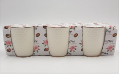 3Pcs Coffee Mugs