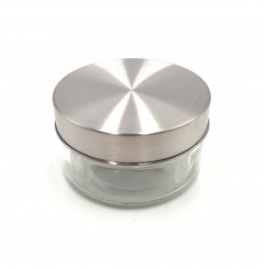 Glass jar with high Cap