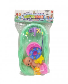 Toy Funny Bath Tub - Multi Color - Water Game