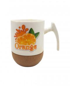 Ceramic mug With Spoon