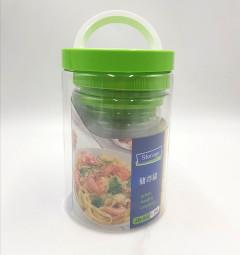5 Pcs Sealed Plastic Canister Storage Box
