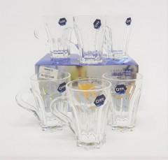 Set Of 6 Pcs Glass Cup
