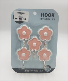 Stainless Steel Hook 5Pcs Set