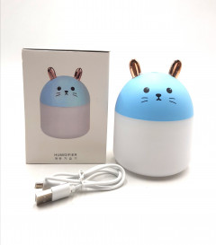 Portable Mini Humidifier 250ml Cool Mist Humidifier with Night Light