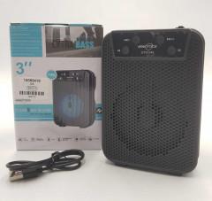 Loud black speaker
