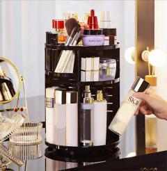 Rotatable Cosmetics Storage Box