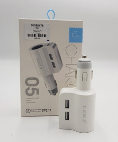Top Quality 5V 3.1A Fast Charging Car Phone Charger For Samsung Xiaomi