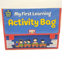 My First Learning Activity Bag - Set of 10 Exciting Activity Book