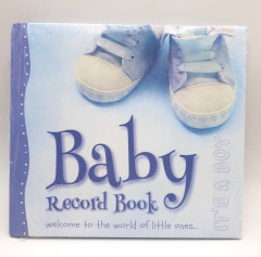 Baby Boys Record Book