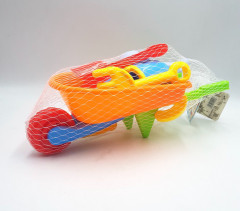 Beach Sand Toys Set Including Large Trolley