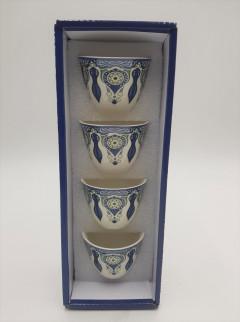 4 Pcs Coffee Cup Set
