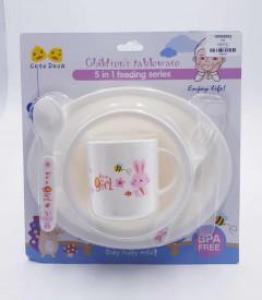 BPA FREE 4 in 1 Baby Feeding Bowl Set