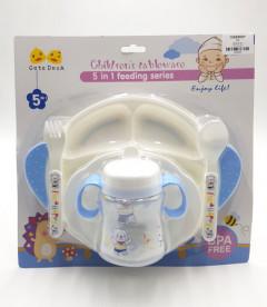 5in1 Children's tableware Feeding Set