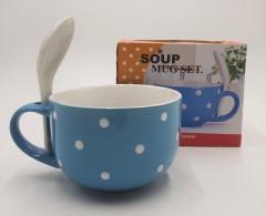 Ceramic Soup Mug Set