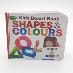 Kids Board - Book Shapes and Colours