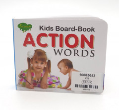 Kids Board-Book Action Words