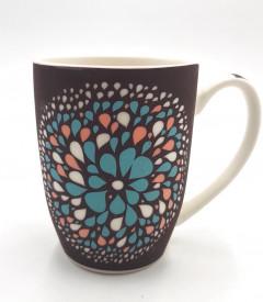 Mandala Dot Art Coffee Mug