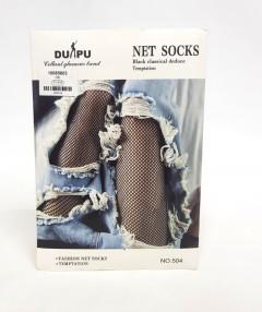 Net Socks Black Classical deduce Temptation
