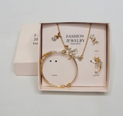 Ladies Jewelry Sets Necklace Ring Earring bracelet Set