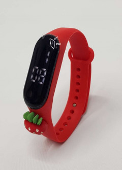 Girl's Watch (Red) Os