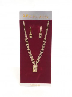 Necklace and earrings set for Ladies