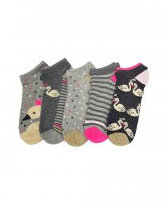 5 Pack Ladies Socks