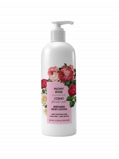 PEONY ROSE PERFUMED BODY LOTION - DAILY MOISTURE CARE  ALOE VERA + SHEA BUTTER