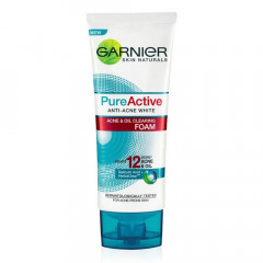 Pure Active Anti-Acne White, Acne & Oil Clearing Facial Foam