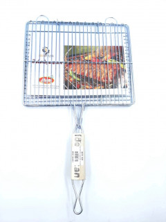 Foldable Portable Stainless Steel Barbecue BBQ Grill Net