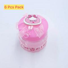 6Pcs Baby Storage Jar Birthday for Girls