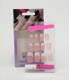 12 Painted Nails With Nail Wraps & Nail Glue