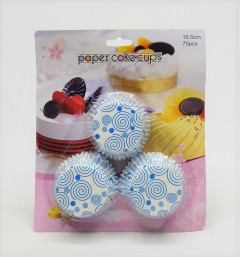 75 Pcs Paper Cake Cups , 10.5CM