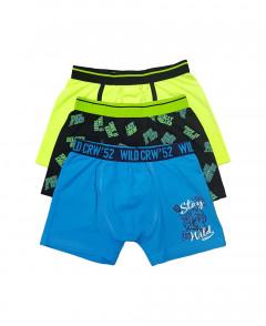 3 Pcs Boys Shorts Pack