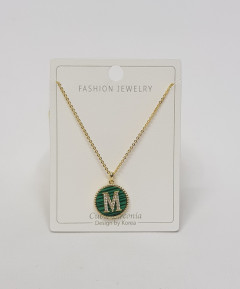 Initial Letter Necklace M