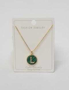 Initial Letter Necklace L
