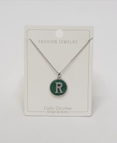 Initial Letter Necklace R