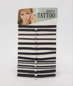 Trendy 12 Pieces Neck Chookar for womens Stylish Neck Patti For girls