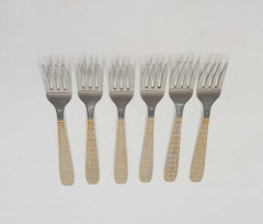 Stainless Steel Fork Table Accessories Set of 6
