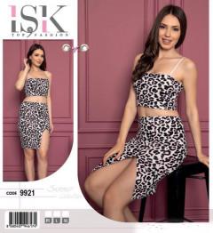 Ladies Turkey Top with Skirt Set