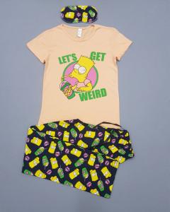 Ladies Turkey 3 Pcs Pyjama Set